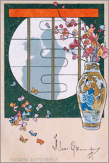Premium-Poster Madame Butterfly III