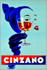 Premium-Poster  Cinzano - Prost - Advertising Collection