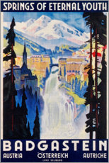 Acrylglasbild  Bad Gastein (englisch) - Travel Collection