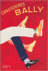 Acrylglasbild  Bally Schuhe (französisch) - Advertising Collection