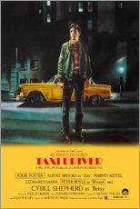 Holzbild  Taxi Driver - Entertainment Collection