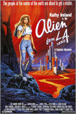 Leinwandbild  Alien from L.A. - Entertainment Collection