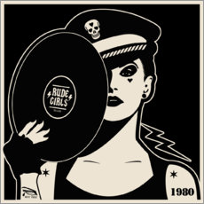 Premium-Poster  Rude Girls Records I - dolceQ