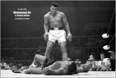 Acrylglasbild  Boxlegende Mohammed Ali - Celebrity Collection