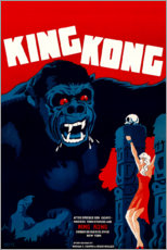 Acrylglasbild  King Kong (dänisch) - Entertainment Collection