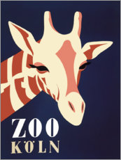 Acrylglasbild  Zoo Köln - Advertising Collection
