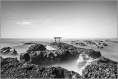 Alubild  Torii am Meer - Jan Christopher Becke
