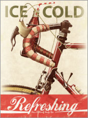 Premium-Poster  Bikes and Cola - Wyatt9