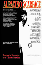 Premium-Poster  Scarface (englisch) - Entertainment Collection