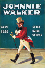 Gallery Print  Johnny Walker (englisch)