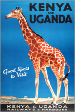 Acrylglasbild  Kenya und Uganda (englisch) - Travel Collection