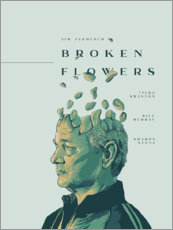 Wandsticker  Broken Flowers - Fourteenlab