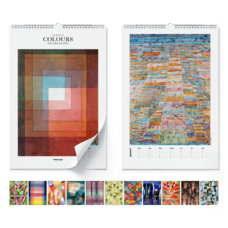 Wandkalender  Paul Klee, Colours 2020 (englisch) - Paul Klee