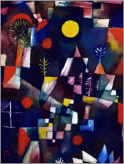 Wandsticker  Der Vollmond - Paul Klee