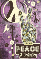 Gallery Print  give peace a chance - Elisandra Sevenstar