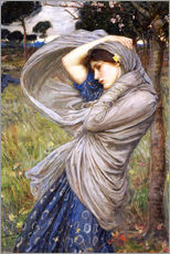 Wandsticker  Boreas - John William Waterhouse