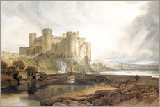 Gallery Print  Conway Castle - Joseph Mallord William Turner