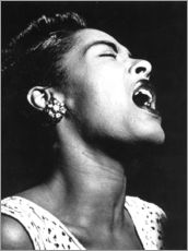 Gallery Print  Billie Holiday