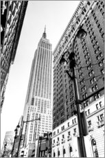 Gallery Print  New York City - Empire State Building (schwarz weiß) - Sascha Kilmer