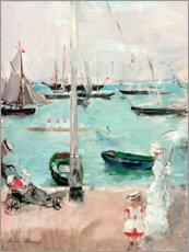 Holzbild  West Cowes, Isle of Wight - Berthe Morisot