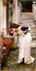 Wandsticker  Das Heiligtum - John William Waterhouse