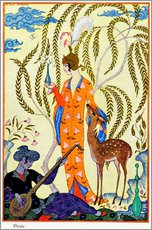 Georges Barbier - Persia, illustration from 'The Art of Perfume', pub. 1912