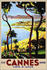 Wandsticker  Cannes - Cote D'Azur - Travel Collection