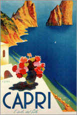 Gallery Print  Italien ? Sommerinsel Capri - Travel Collection