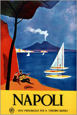 Gallery Print  Neapel, Italien - Travel Collection