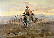 Gallery Print  Stolen Horses, 1911 - Charles Marion Russell