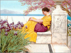 Gallery Print  Unter Blüten - John William Godward