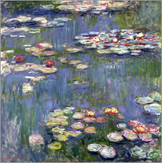 Wandsticker  Seerosen - Claude Monet