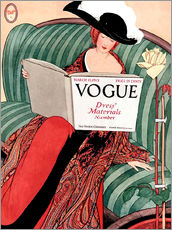 Wandsticker  Die Vogue   Vintage opulent - Advertising Collection