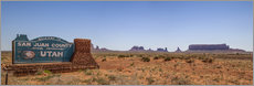 Gallery Print  Monument Valley USA Panorama III - Melanie Viola