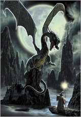Gallery Print  Der Fels des Drachen - Dragon Chronicles