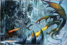 Gallery Print  Die bewohnte Höhle - Dragon Chronicles