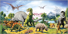 Gallery Print  Land der Dinosaurier - Paul Simmons