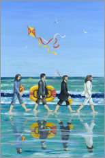 Wandsticker  Abbey Road Beach - Peter Adderley