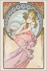 Gallery Print  The Arts ? Painting - Alfons Mucha