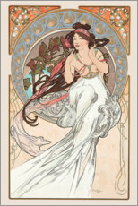Wandsticker  The Arts - Music - Alfons Mucha