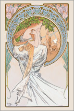 Wandsticker  The Arts - Poetry - Alfons Mucha