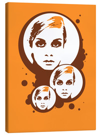 Leinwandbild  Twiggy Mathmos Orange - JASMIN!