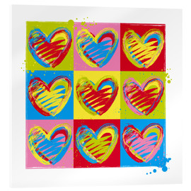 Acrylglasbild  heart number five - Thomas Marutschke