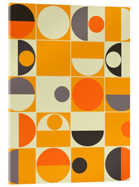 Acrylglasbild  panton orange - Mandy Reinmuth