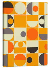 Leinwandbild  panton orange - Mandy Reinmuth