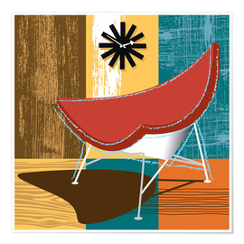 Premium-Poster Lounge Chair II