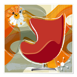 Premium-Poster Lounge Chair III
