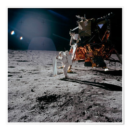 Stocktrek Images - Apollo 11, Moonwalk