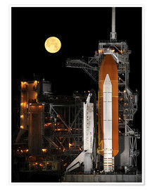Premium-Poster  Space Shuttle Discovery - Stocktrek Images