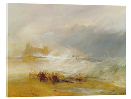 Acrylglasbild  Wreckers - Küste von Northumberland - Joseph Mallord William Turner